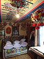 Wnętrze chaty Curyłowej w Zalipiu.JPG