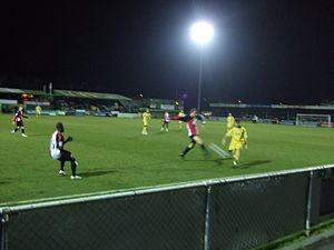 Eastbourne Borough F.C. - Eastbourne Borough away to Woking 27 January 2009.