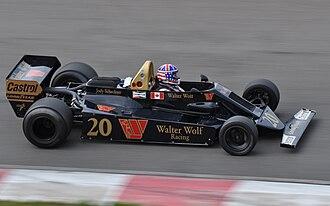 Wolf WR5 - Image: Wolf WR6 Mont Tremblant Scheckter