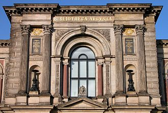 Herzog August Library - Entrance to the Library