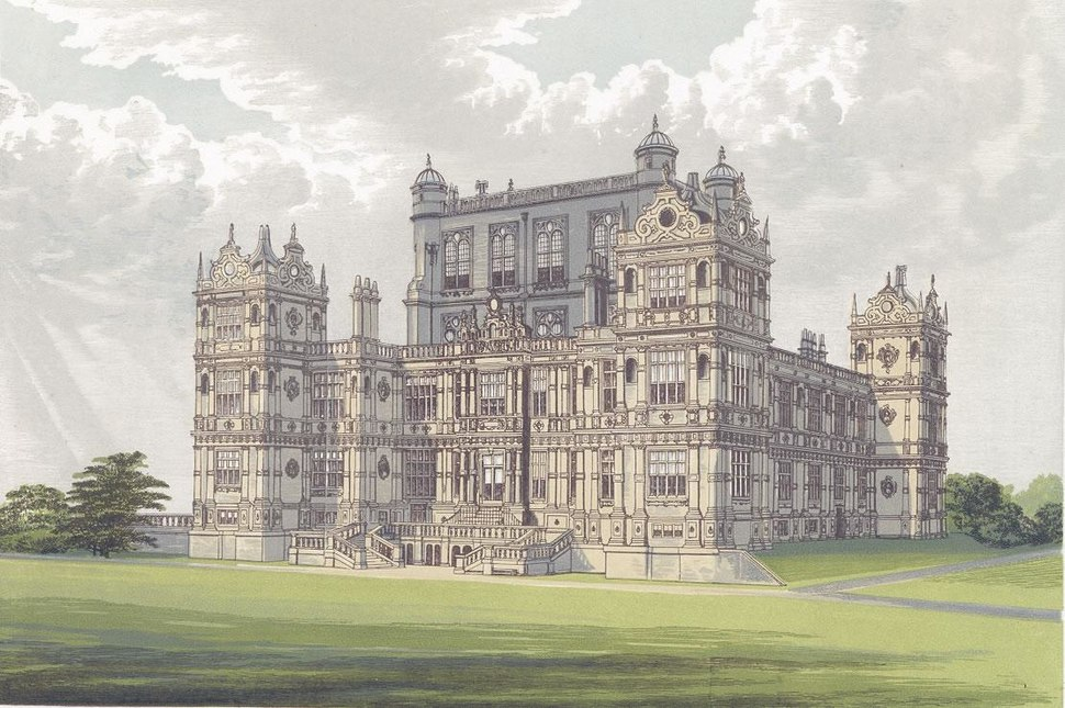 Wollaton Hall from Morriss Seats of Noblemen and Gentlemen (1880)
