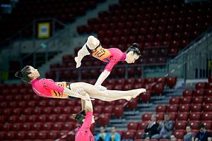 Acrobatic gymnastics - Women's trio