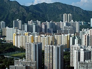 Wong Tai Sin District - Several public housing estates located in Wong Tai Sin