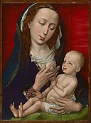 Workshop of Rogier van der Weyden - Virgin and Child - 1933.1052 - Art Institute of Chicago.jpg