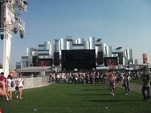 Rock in Rio - The Palco Mundo (World Stage) at the Rock in Rio 4
