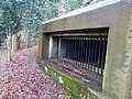 World War II field artillery emplacement, Moor Park, Farnham 02.jpg
