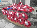 Wreaths at Wetherby war memorial (23rd November 2018) 001.jpg