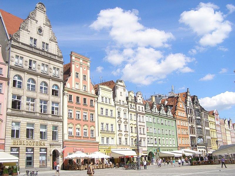 File:Wroclaw Rynek kamienice 1.jpg