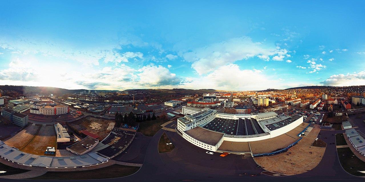 a 360° panorama photo of Würzburg (taken at EH18)