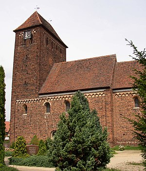 Wust, Saxony-Anhalt - Church in Melkow
