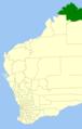 Wyndham-east kimberley LGA WA.png