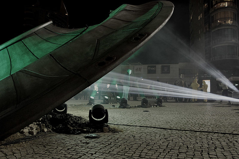 File:X-Files Season 10 Promotional Alien Spaceship (25252087809).jpg