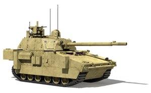 Digital mockup - digital mockup of XM1202 Mounted Combat System