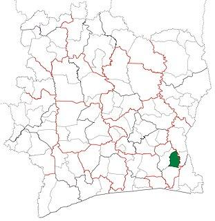 Yakassé-Attobrou Department Department in Lagunes, Ivory Coast