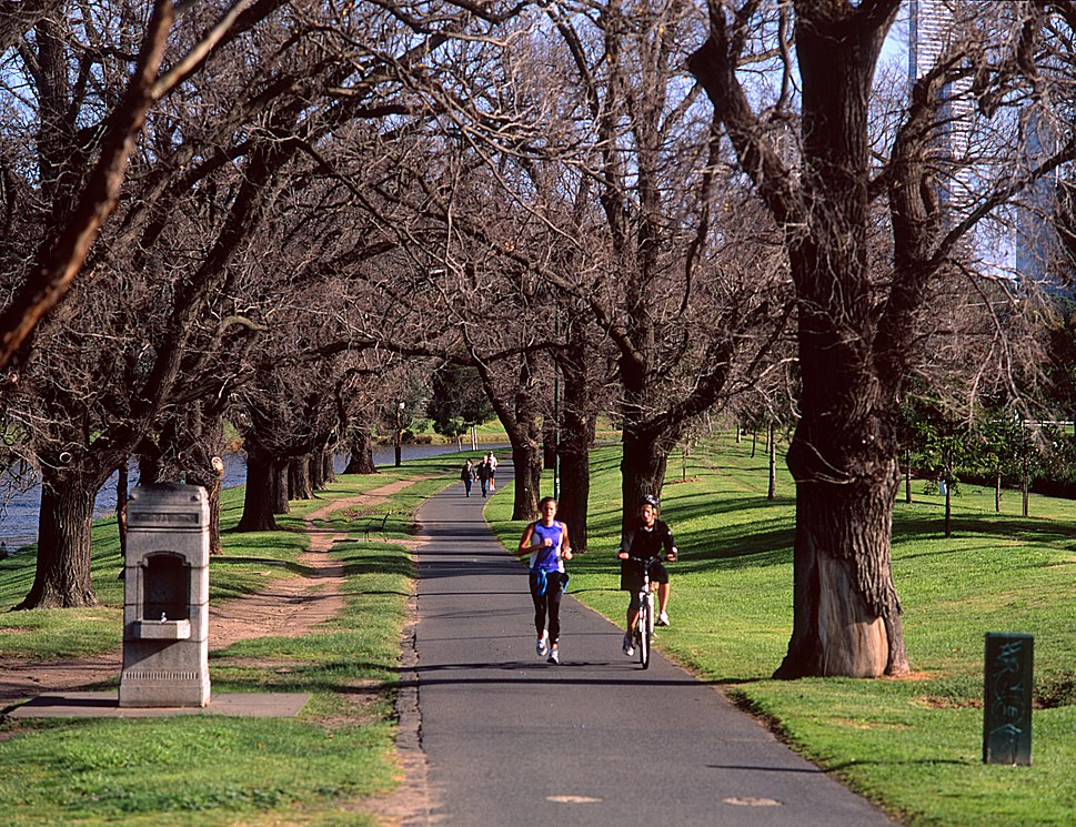 Yarra River paths