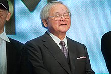"Yasuhiko Yoshikazu ""The World of Gundam"" at Opening Ceremony of the 28th Tokyo International Film Festival (22442053681).jpg"