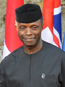 Vice President Yemi Osinbajo. Photo: Wikipedia