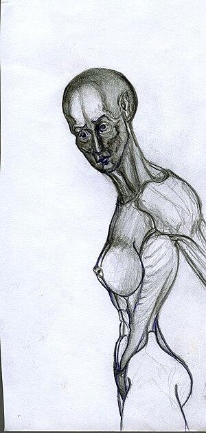 Art mixed media Pen and Pencil, Drawing