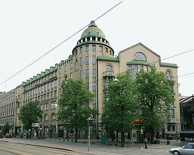 Nouvelle maison des étudiants d'Helsinki