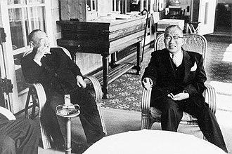 Shigeru Yoshida - Meeting with Ichirō Hatoyama