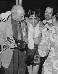 Yoshio Shirai and Alvin Rober Cahn 1952.JPG