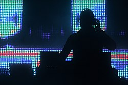 Young DJ performs at the Retune Music Academy finalists' competition in Cairo, Egypt.jpg