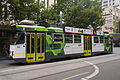 Z3 123 (Melbourne tram) in Swanston St, December 2013.JPG
