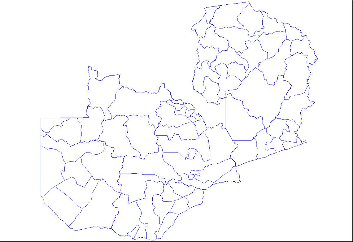 Districts de Zambie Wikipdia