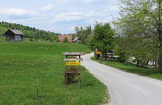 Zavrtače Place in Lower Carniola, Slovenia