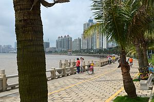 Xiangzhou District, Zhuhai - Lovers' Road
