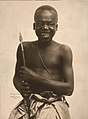 """Cannibal."" (Ota Benga, Pygmy. Part of Department of Anthropology at the 1904 World's Fair).jpg"