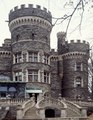 """Grey Towers,"" the 1892 turreted home of sugar refinery owner William Welsh Garrison in Glenside, outside Philadelphia, Pennsylvania LCCN2011633556.tif"