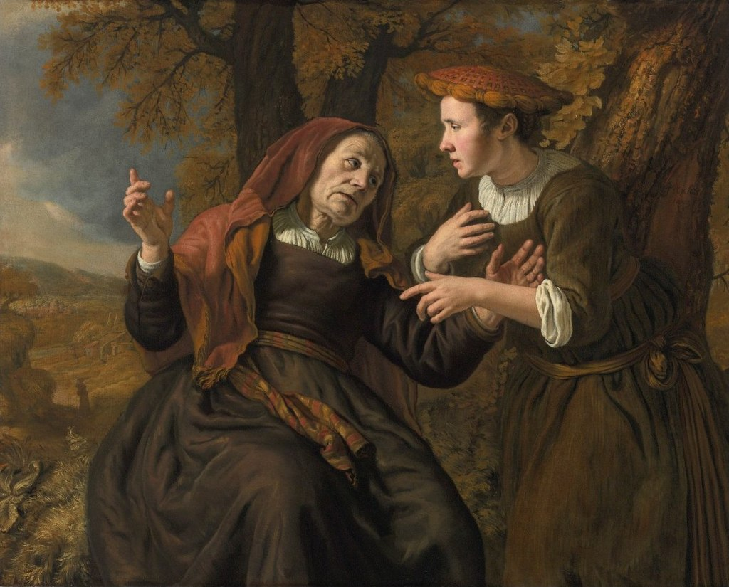 'Ruth and Naomi' by Jan Victors, 1653.jpg