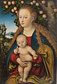 'The Virgin and Child under an Apple Tree' by Lucas Cranach the Elder, 1530s, Hermitage.jpg