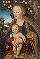 'The Virgin and Child under an Apple Tree' by Lucas Cranach the Elder, 1530s, Hermitage.jpg