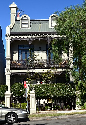 Bronte, New South Wales - Image: (1)Bronte Road heritage listed house