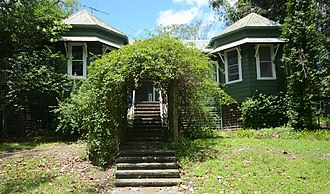 Hornsby, New South Wales - Coringah, former home of Edgeworth David in Edgeworth David Garden