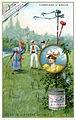(Advertising cards depicting croquet and tennis) (14243315502).jpg