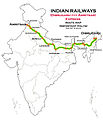 (Dibrugarh - Amritsar) Express Route map.jpg