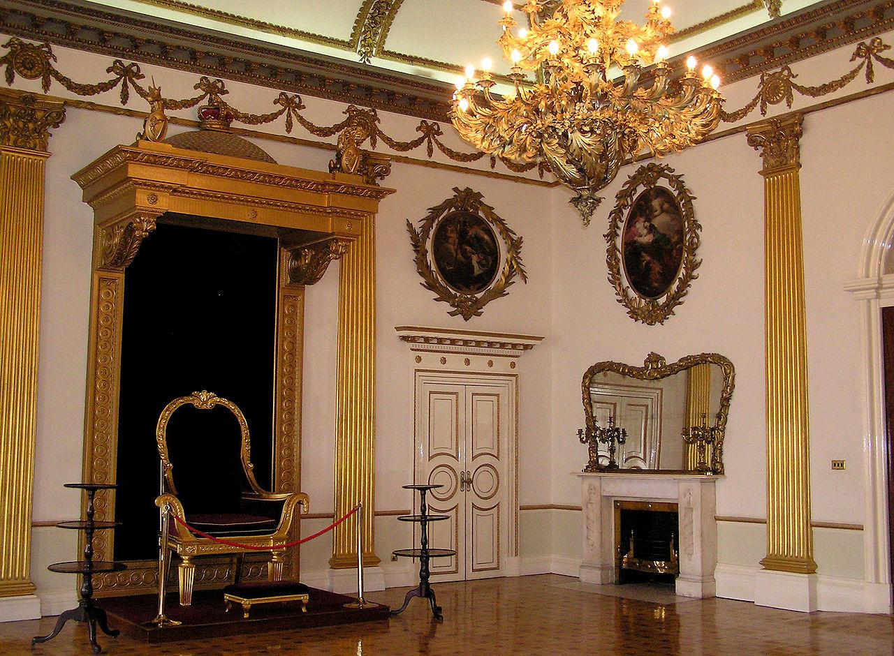 file:(ireland) dublin castle interior (throne) - wikimedia commons