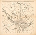 (Map of Washington D.C. and vicinity). LOC 88694110.jpg