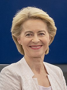 (Ursula von der Leyen) 2019.07.16. Ursula von der Leyen presents her vision to MEPs 2 (cropped).jpg