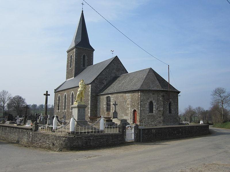 Église Notre-Dame (17e/19e), La Chapelle-Urée