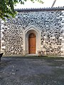Église Saint-André d'Alba-la-Romaine - Porte place du Château.jpg