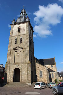 Mauron Commune in Brittany, France