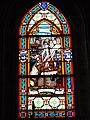 Église Saint-Victor d'Artenay (Loiret) vitrail St.Jeanne d'Arc 03.JPG