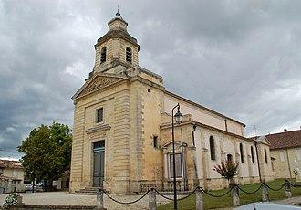 Cantenac - Image: Église de Cantenac