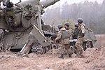 """Бойові стрільби артилерійських підрозділів на полігоні """"Дівички"""" (30598642971).jpg"""