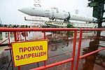 Вывоз и установка ракеты космического назначения «Ангара-1.2ПП» на стартовом комплексе космодрома Плесецк 12.jpg