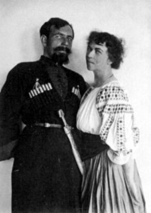 Alexandra Kollontai - Alexandra and her second husband, Pavel Dybenko
